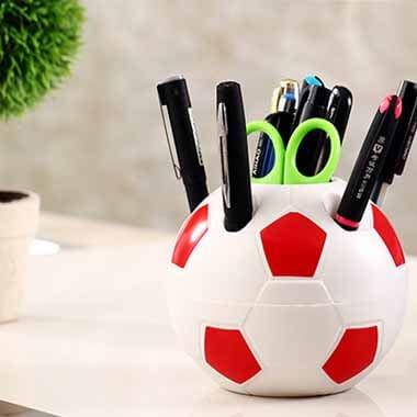 新サッカーボール型ペン立てペンスタンド【画像4】
