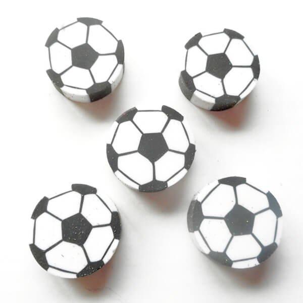コイン型消しゴム(サッカーボール)単価37円〜【画像3】