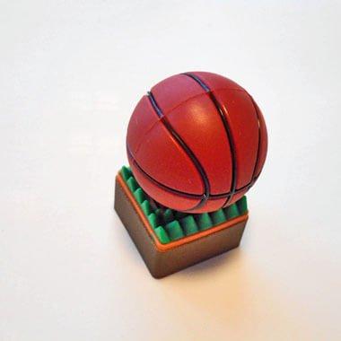 かわいいUSBメモリ  バスケットボール型 地面が芝【画像2】