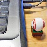 野球グッズ ロングセラー  かわいいUSBメモリ  野球ボールタイプ