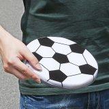 サッカーボール型のソフトフリスビー