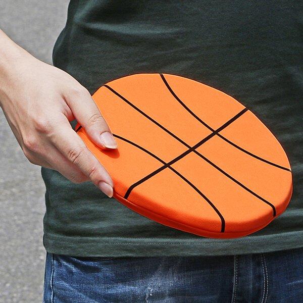 バスケットボール型のソフトフリスビー