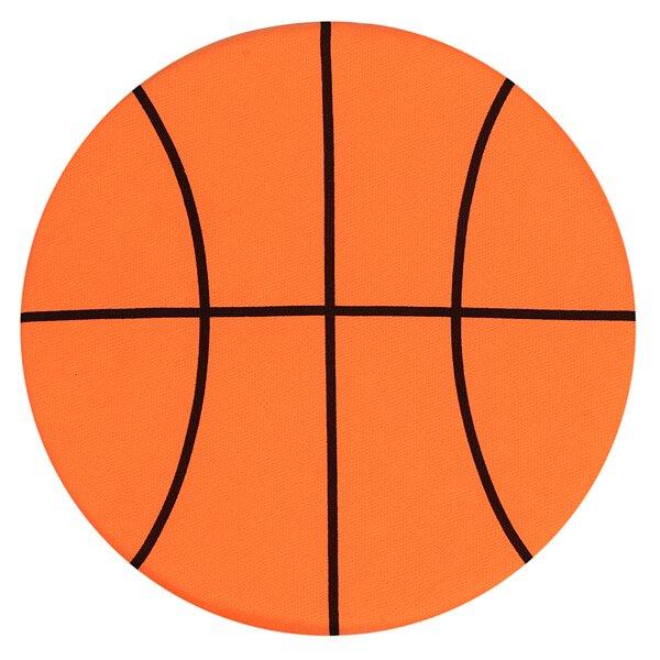 バスケットボール型のソフトフリスビー【画像2】