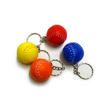 セットがお得! やわらかい野球ボールキーホルダー(小)  単価 47円〜【画像4】