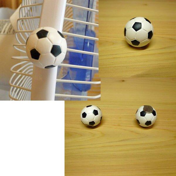 サッカーボール型マグネット【画像2】