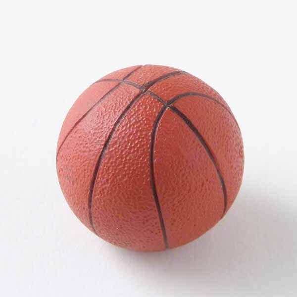 可愛いバスケットボール型のマグネット 1個【画像2】