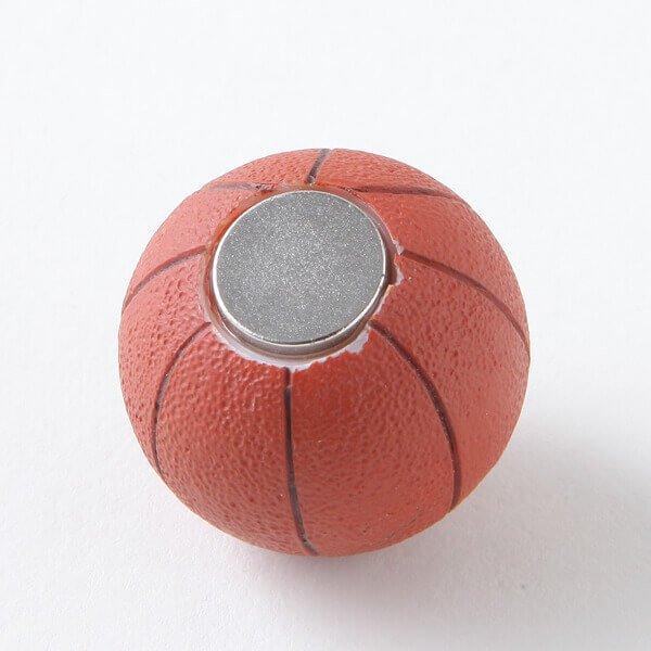 可愛いバスケットボール型のマグネット 1個【画像3】