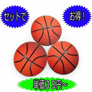 バスケットボール型紙コースター