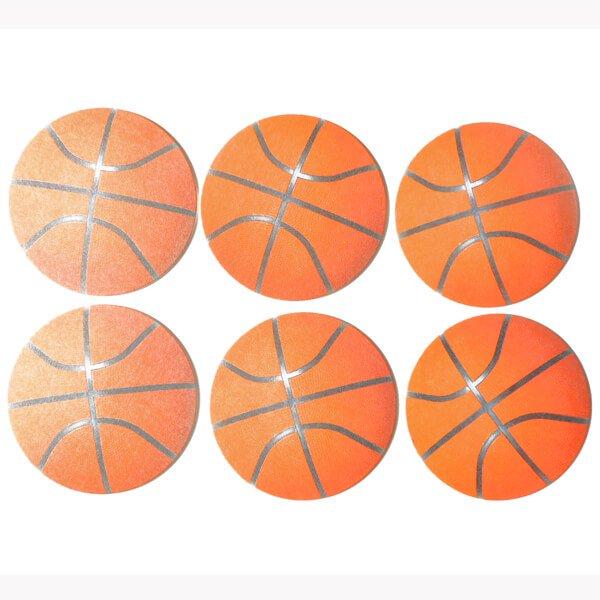バスケットボール型紙コースター【画像3】