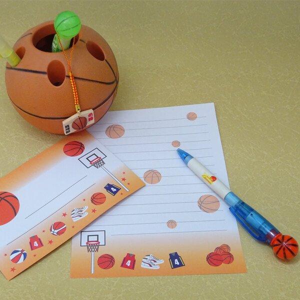 バスケットボール付根付ストラップ 木製絵馬(必勝!)【画像5】