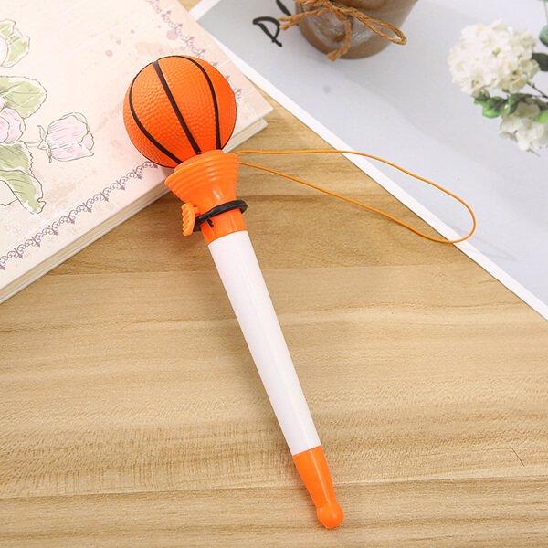 【アイテムキューブ】事務・文具・ビジネス用品 > 文具 | 真空ボールペン(ボールを飛ばして遊べるバスケットボールペン)