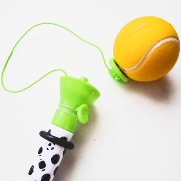 真空テニスボールペン(ボールを飛ばして遊べるボールペン)【画像2】