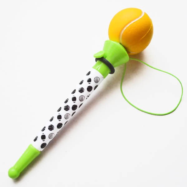 真空テニスボールペン(ボールを飛ばして遊べるボールペン)【画像4】