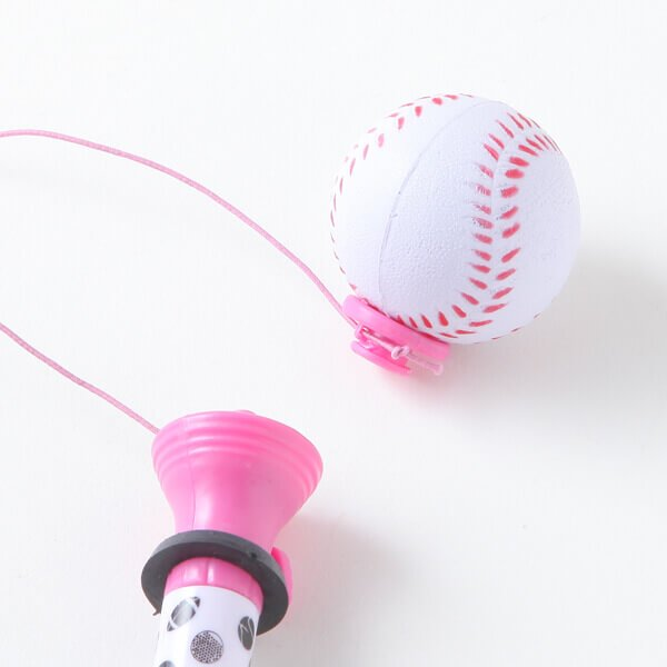(カラー紫) 真空ボールペン(ボールを飛ばして遊べる野球ボールペン)【画像3】
