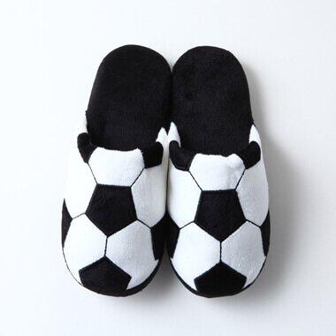 サッカーボールスリッパ(レディース用)【画像3】