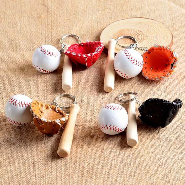 野球よくばりキーホルダー(薄茶色のグローブ)【画像4】