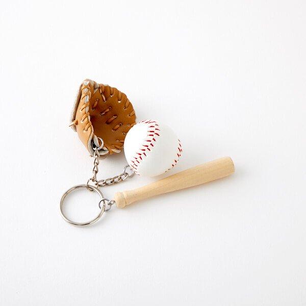 野球よくばりキーホルダー(薄茶色のグローブ)【画像7】