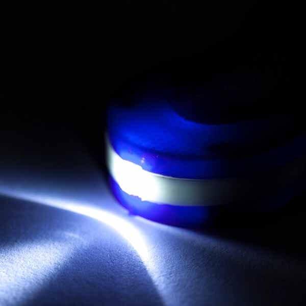 LEDライトキーホルダー 卓球ラケット型【画像3】