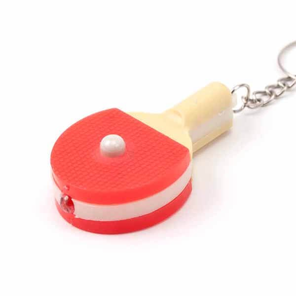 LEDライトキーホルダー 卓球ラケット型【画像4】