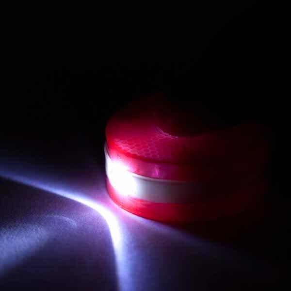 LEDライトキーホルダー 卓球ラケット型【画像5】