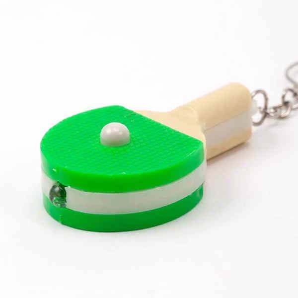 LEDライトキーホルダー 卓球ラケット型【画像6】
