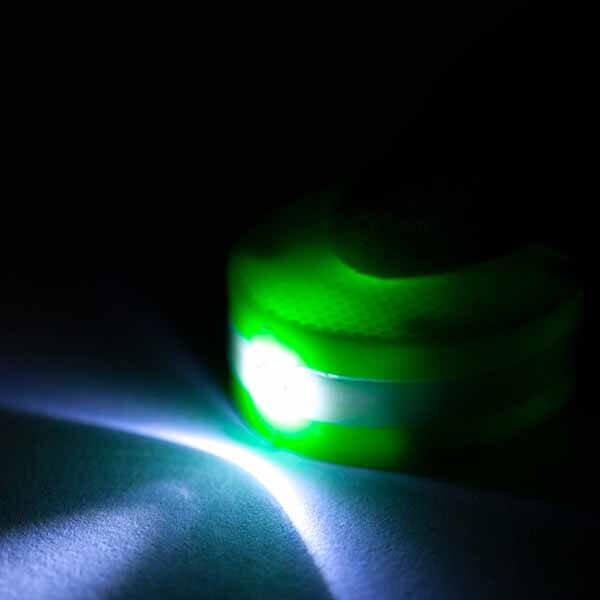 LEDライトキーホルダー 卓球ラケット型【画像7】