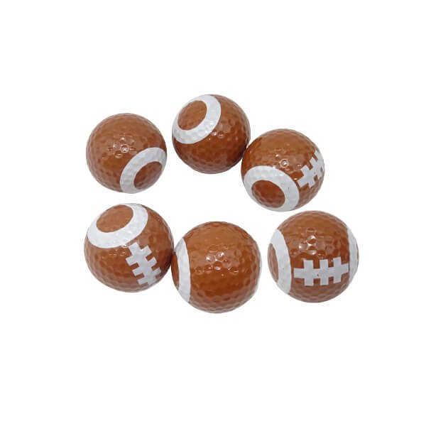ラグビーボール型ゴルフボール 1個