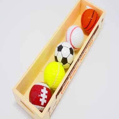 ラグビーボール型ゴルフボール 1個【画像5】