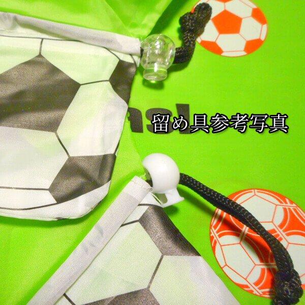 オリジナルサッカーボール柄の折り畳みエコバッグ【画像4】