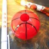 バスケ 景品向け 不思議な万華鏡 バスケットボールタイプ