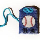 野球のボールグッズ・雑貨  噂のスポーツお守り 野球ボール柄