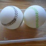 野球ボール柄 卓球ボール
