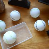 野球グッズ ロングセラー  卓球ボール 野球ボール柄