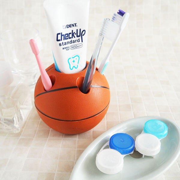 バスケットボール型ペン立て【画像2】
