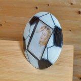 サッカー人気アイテム サッカーボール型フォトフレーム