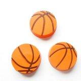 バスケットボール柄コイン型マグネット