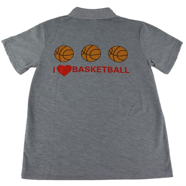 バスケ好きのためのオリジナルシャツ 1枚【画像5】