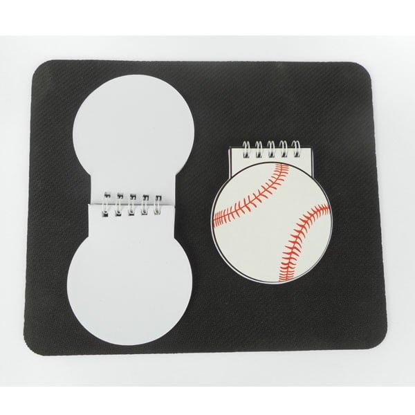 野球ボール型 リング付きのメモ帳【画像4】