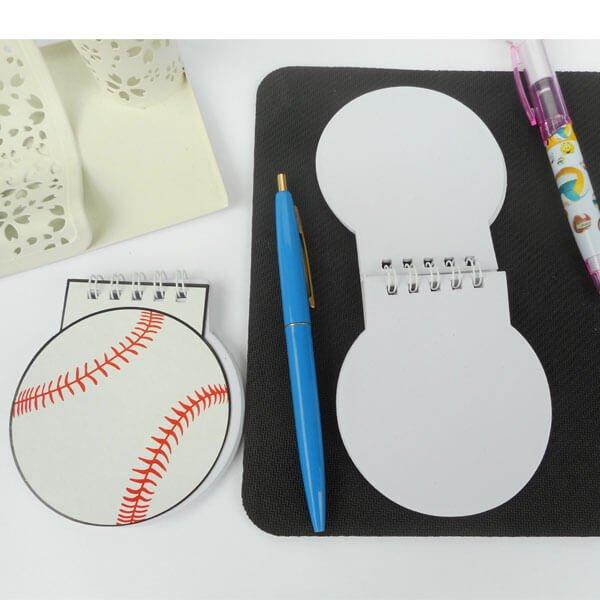 野球ボール型 リング付きのメモ帳【画像5】