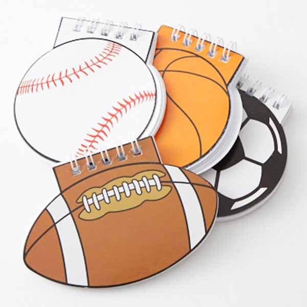 野球ボール型 リング付きのメモ帳【画像8】