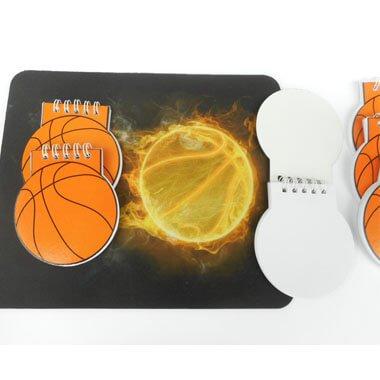 バスケットボール型 リング付きのメモ帳【画像4】