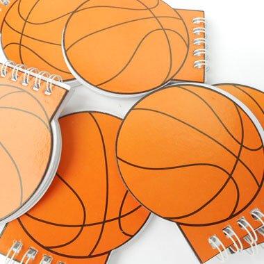 バスケットボール型 リング付きのメモ帳【画像6】