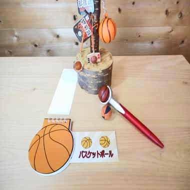 バスケットボール型 リング付きのメモ帳【画像9】