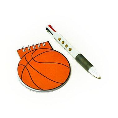 バスケットボール型 リング付きのメモ帳【画像10】
