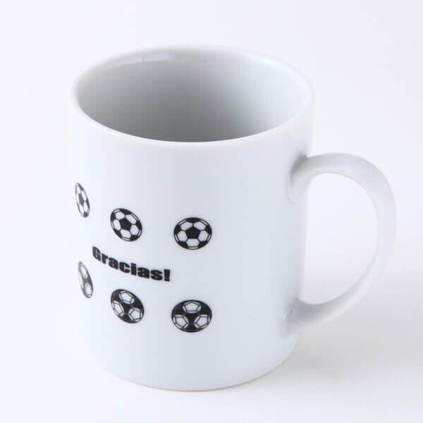 セットでお得! サッカーボール柄 オリジナルマグカップ  単価 600円〜