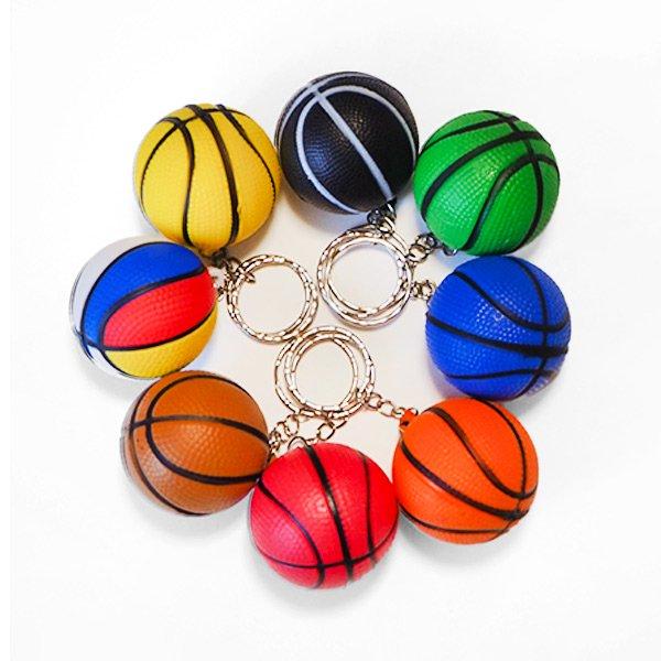 やわらかいバスケットボールキーホルダー(大) 単価66円〜【画像6】