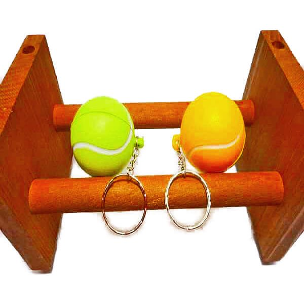 セットがお得! やわらかいテニスボールキーホルダー(大) 単価74円〜【画像6】