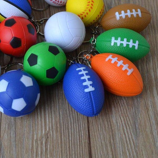 セットがお得 やわらかラグビーボールキーホルダー(大) 単価78円〜【画像8】