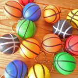 アウトレット  やわらかいバスケットボールキーホルダー