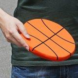 アウトレット バスケットボール型ソフトフライヤー(フリスビー)